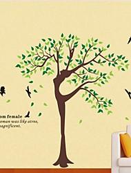 Фрэнки ™ DIY декоративные наклейки мультфильм дерево может быть удален
