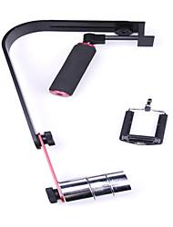 DEBO UF-010 portatif stabilisateur vidéo pour caméra vidéo / appareil photo reflex - Noir