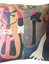 Pitture famose opere Forty-Nine Decorative copertura del cuscino