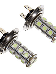 H7 LED 2,5 W 18-200LM 5050SMD Blue Light-LED für Auto (12V, 2 Stück)