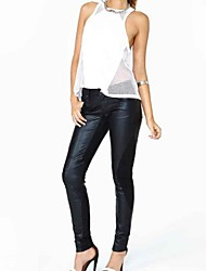 Women's Black Skinny Pants , Bodycon