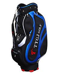 Noir Nylon Standard Golf Ball Bag Homme