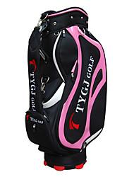 Bola Preto Nylon Golf Bag Padrão da Mulher