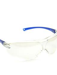 3M 3m63401 de una pieza de plata y arena a prueba de protección UV anti-vaho gafas de seguridad a prueba de viento del espejo