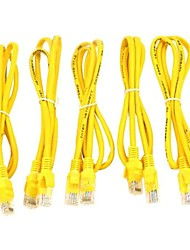 RJ45 Ethernet Internet Cable de red 5 PCS
