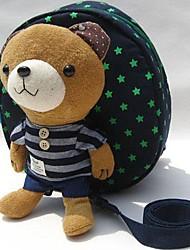 De los niños de la muchacha del muchacho del algodón de dibujos animados Winnie contra maleta perdida hombro mochila
