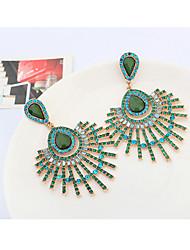 YiYi Europe Fashion Butterfly Drop Refinement Earrings(White,Yellow,Fuchsia,Cream,Light Blue)