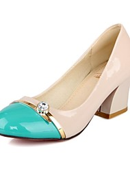 Women's  Chunky  Heel Round Toe  Pump Shoes  (More Colors)