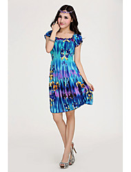 Women's Dresses , Rayon Beach Shangmei