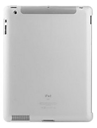 Transparent Protective TPU Case for iPad 2(white)