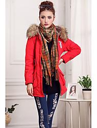 Women's Coats & Jackets , Tweed Casual Ai&Cheng