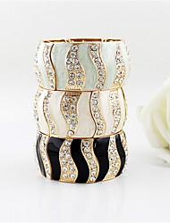Изящный браслет сплав с Rhinestone женщин (больше цветов)