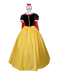 Elegant Princess Snow Fairytale Princess Classic Style Women's Halloween Costume Cosplay Costumes Party Dress