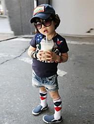 Boy's Fashion Vrije tijd korte mouw T-shirt