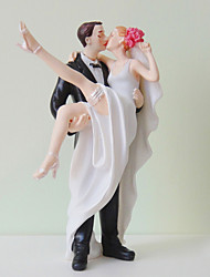 Cake Toppers Crossing The Threshold Bride & Groom  Cake Topper