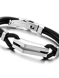Esportes Cuff Jóias Bracelets190mm 316L Michael envoltório de aço inoxidável pulseira Homens Jóias