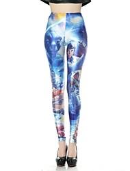 Sexy maigre Star Wars Imprimé crayon des femmes Legging Pantalon