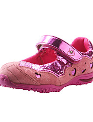 Comfortable Pink Girls' Sneakers With Self-Adhesive Strap (limited-stock item - will be sold on a first-come, first-served basis)