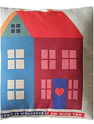 Sweet Home Onde está casa com você decorativa fronha