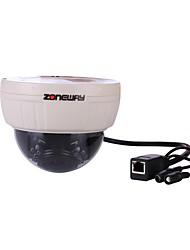 ZONEWAY® NC627MW-P Indoor Wifi 1.0mp HD Onvif Network IP IR Dome Camera(P2P, Free DDNS, Night Vision)