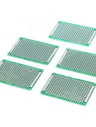 Double Side Tin-Plating 2,54 milímetros DIY Prototype PCB placa de circuito impresso (5 PCS)