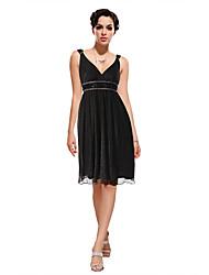 Ever-Pretty Women's V Neck Chiffon Dress
