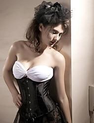 Noir Evelyn des femmes underbust corset