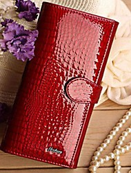 Formal / Sports / Casual / Event/Party-Wallet-Cowhide / Patent Leather-Women