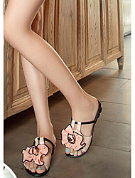 Zikafo New 2014 Summer Big Flower Shaped Sandals
