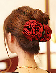 Coreano Rose Forma Acrílico Cabelo Garras para mulheres (mais cores) (1 Pc)