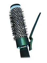 Aluminium Rouleau ronde Peigne de coiffure Outils