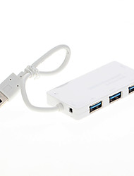 4-Port High Speed USB 3.0 Hub