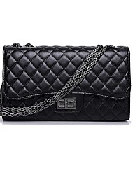 INLEELA® Women's Fashion Lozenge Chain One Shoulder/Crossbody Bag
