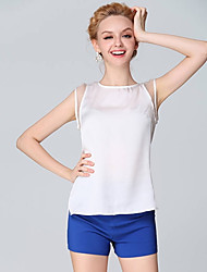 Women's Tops & Blouses , Chiffon/Cotton Casual Ricci