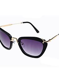 De las mujeres XSD Vintage exterior contra los rayos UV Big Black Sunglasses