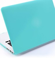 Babyblue Folio Plastic Protective Hard Shell Case for Macbook Air 13""