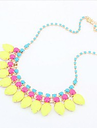MISS U Candy Color Gemstone Necklace