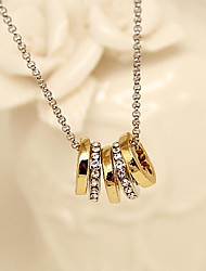Fashion Jewelry  Short  Gold Plated  Four Leaf Clover Set Auger Clavicle Necklace for Women
