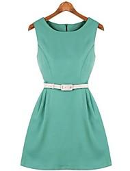 2014 Nuovo arrivo stile casuale Ciffon tunica vestito delle donne