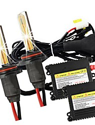 Merdia 9006 55W 3000K 2800lm HID Xenon Lights with Ballasts Kit (AC 9~16V)