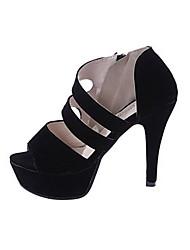 Sandalias ( PU , Como la Imagen )- 10-12cm - Tacón de estilete para Zapatos de mujer