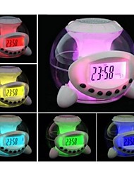 Timess™  LED Digital Colorful Fantasy Projector Music Alarm Clock