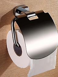 Твердый латунный держатель туалетной бумаги, 5-дюймовый х 6 дюймов