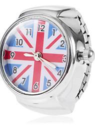 Mulheres Relógio de Moda Quartz Banda Riscas Prata marca-