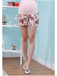 Motif floral Imprimé Shorts de maternité pour les femmes enceintes plus la taille M-2XL