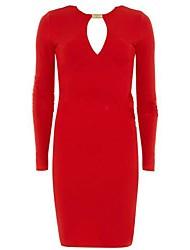 Один и только Женская Новый стиль с длинным рукавом платье N6186329
