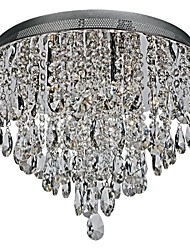 Led  Ceiling Lamps , 6 Light , Artistic Crystal Plating MS-33085