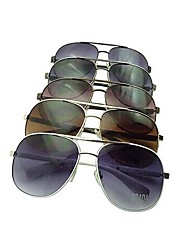 Coway Men and Women Fashion General Metal Polarized Sunglasses(Assorted Color)