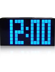 Kosda Chihai ® Digital grande grande del jumbo LED Snooze escritorio de la pared con el reloj de alarma Luz del Calendario