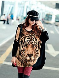 The One & Only Women's Korean Loose Fit Long Sleeve Chiffon Blouse N6186323